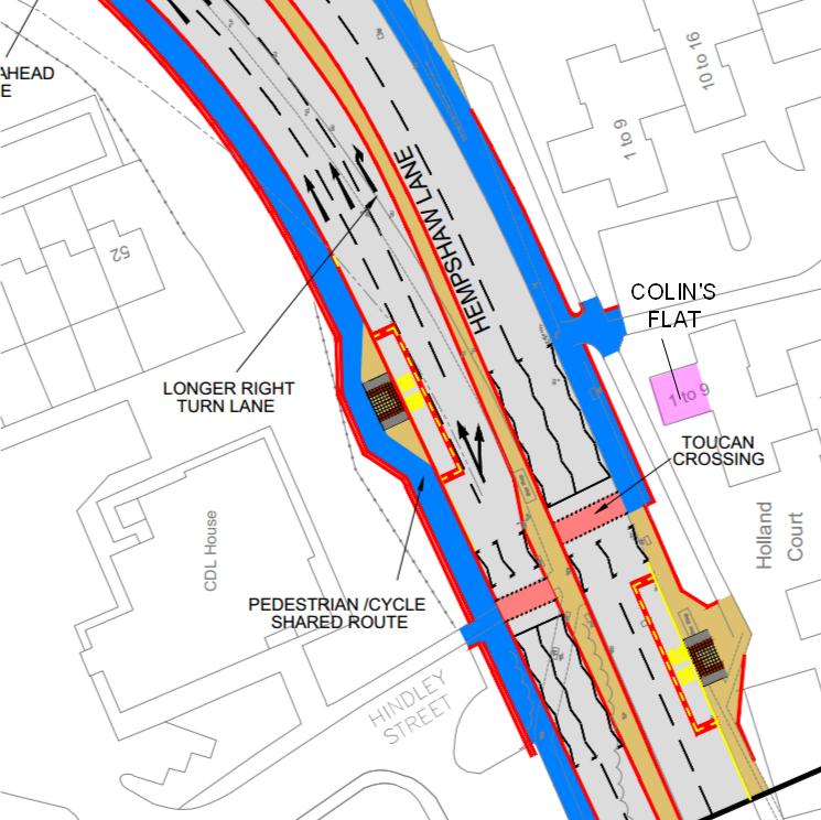 hempshaw lane proposals